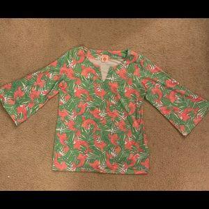 Parisou coy fish blouse